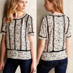 Anthropologie Faison Blouse by Meadow Rue